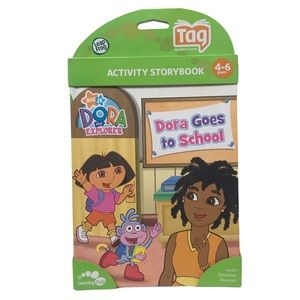 Leapfrog Tag Dora Goes to School book new